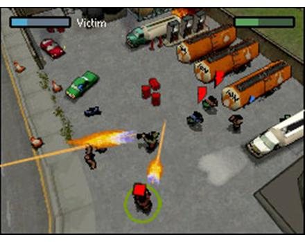 chinatown wars is no exception weapons the engines of cars the sounds