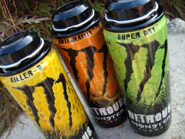 New Monster Energy Drink Can.