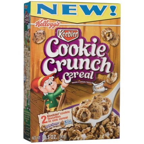 [Food Review] Kellogg's Keebler Cookie Crunch Cereal