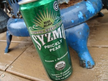 Organic energy drink can