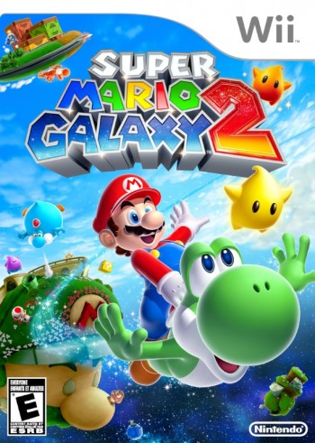 Mario Galaxy 2 US Box art