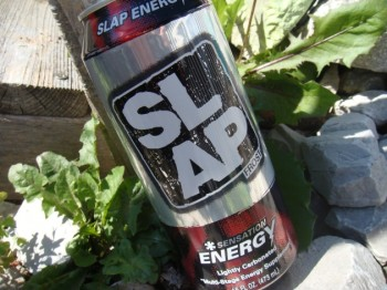 Slap frost energy drink